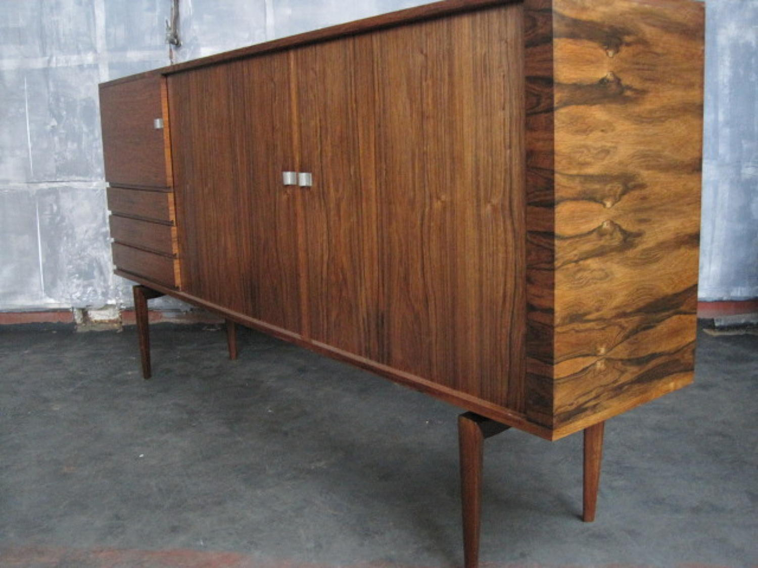 Rosewood sideboard by H W Klein for Bramin