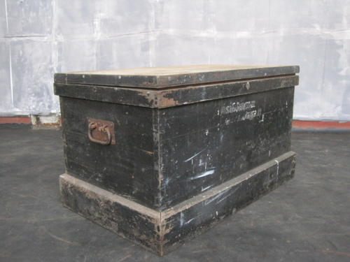Antique joiners chest coffee table