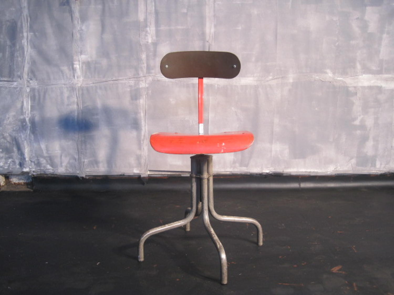 Vintage industrial factory chair