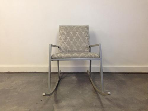 Domestic tales scissor rocking chair by Kiki Van Eijk