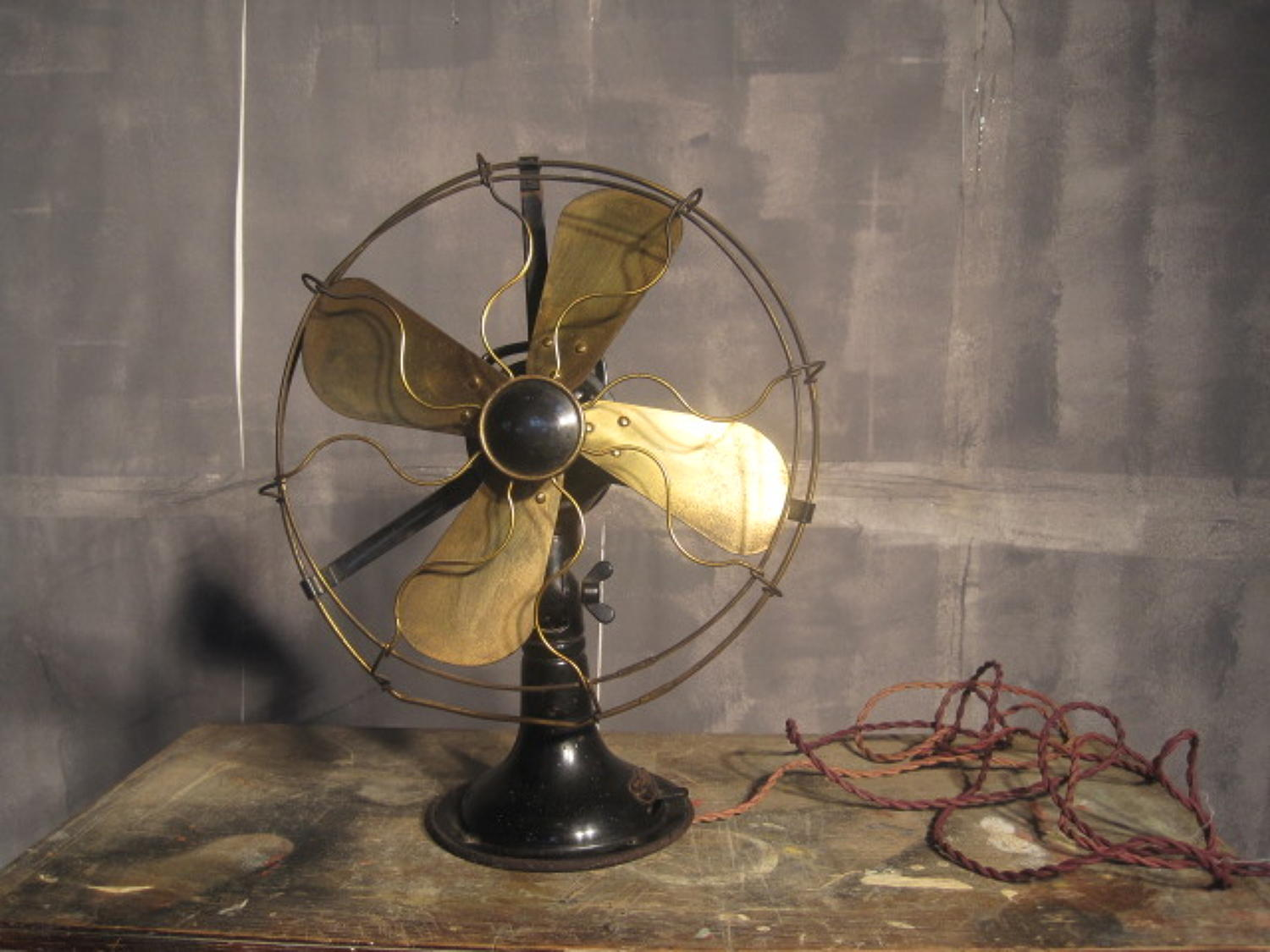 Peter Behrens table fan for AEG