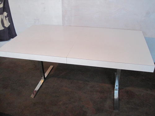 1960s dining table by Poul Norreklit for Selectform