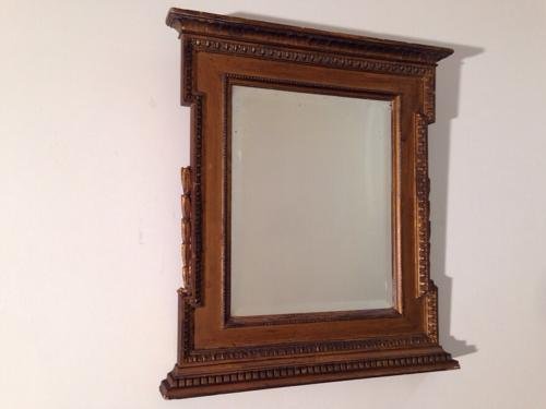 Antique R Dolman & Son gilt mirror