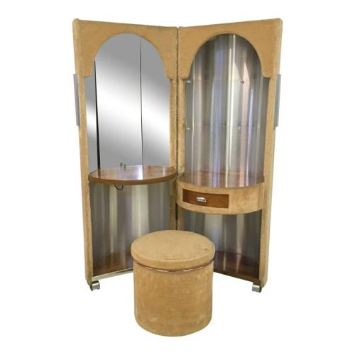 Vanity table by Luigi Massoni for Poltrona Frau