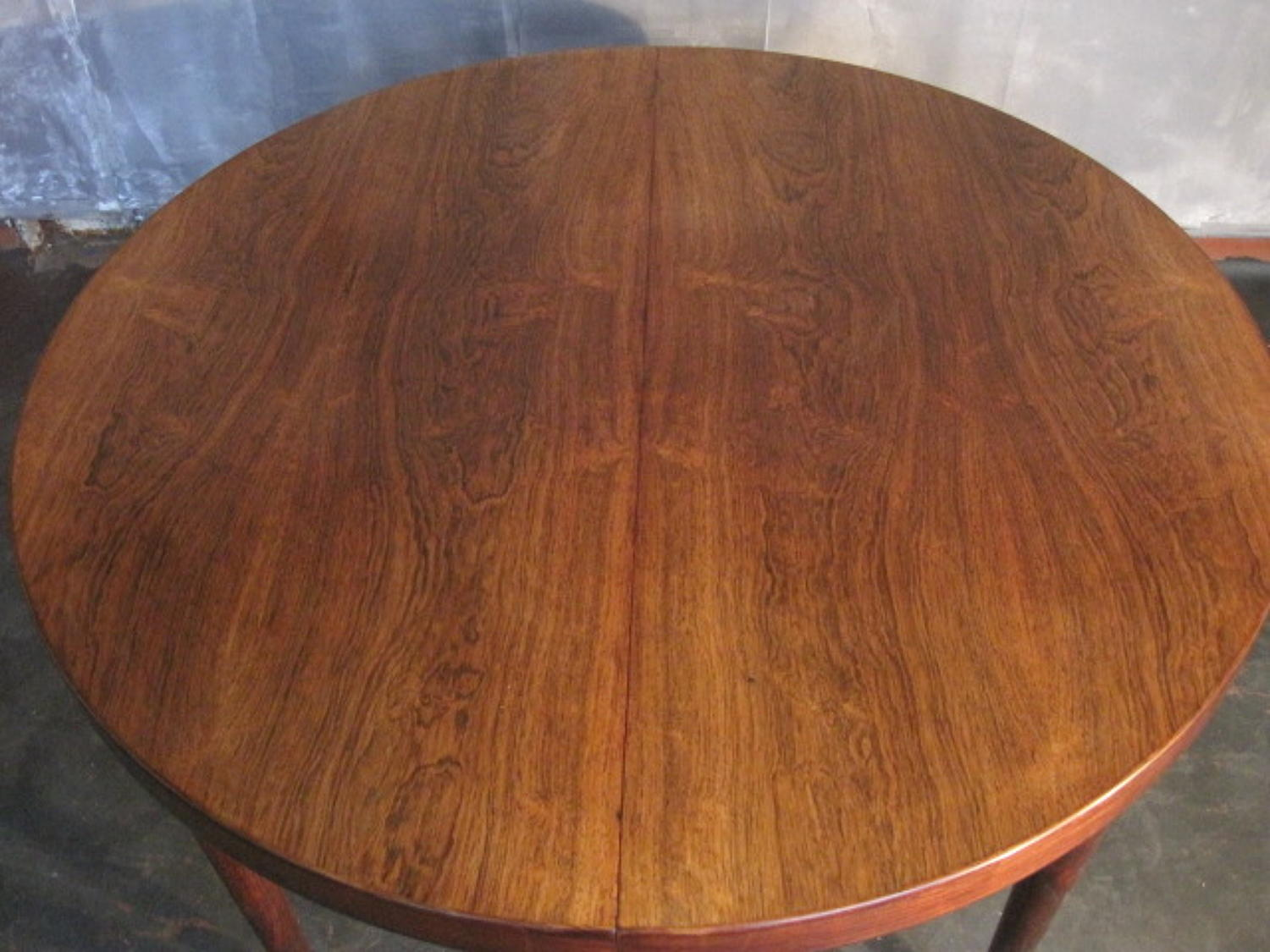 Kai Kristiansen rosewood dining table