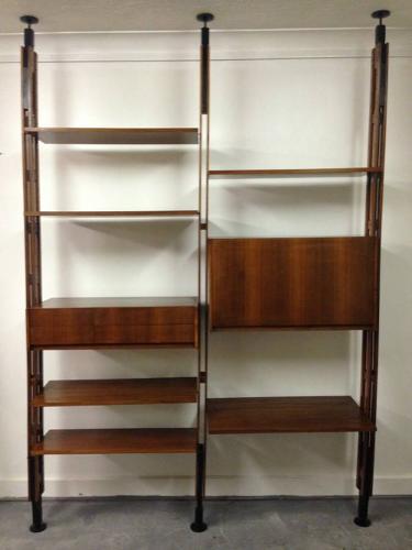 LB7 room divider bookcase by Franco Albini