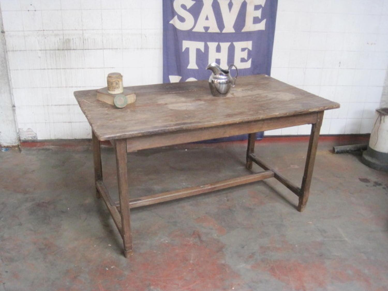 18th Century oak table
