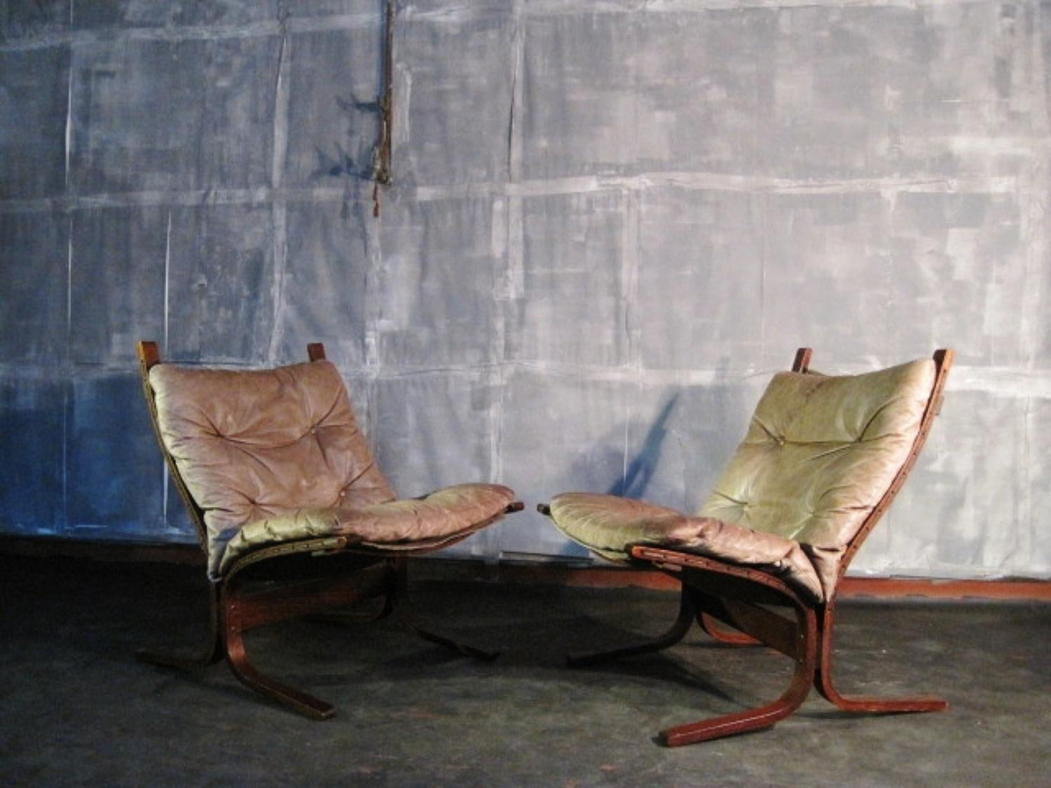 A pair of Siesta chairs by Ingmar Relling