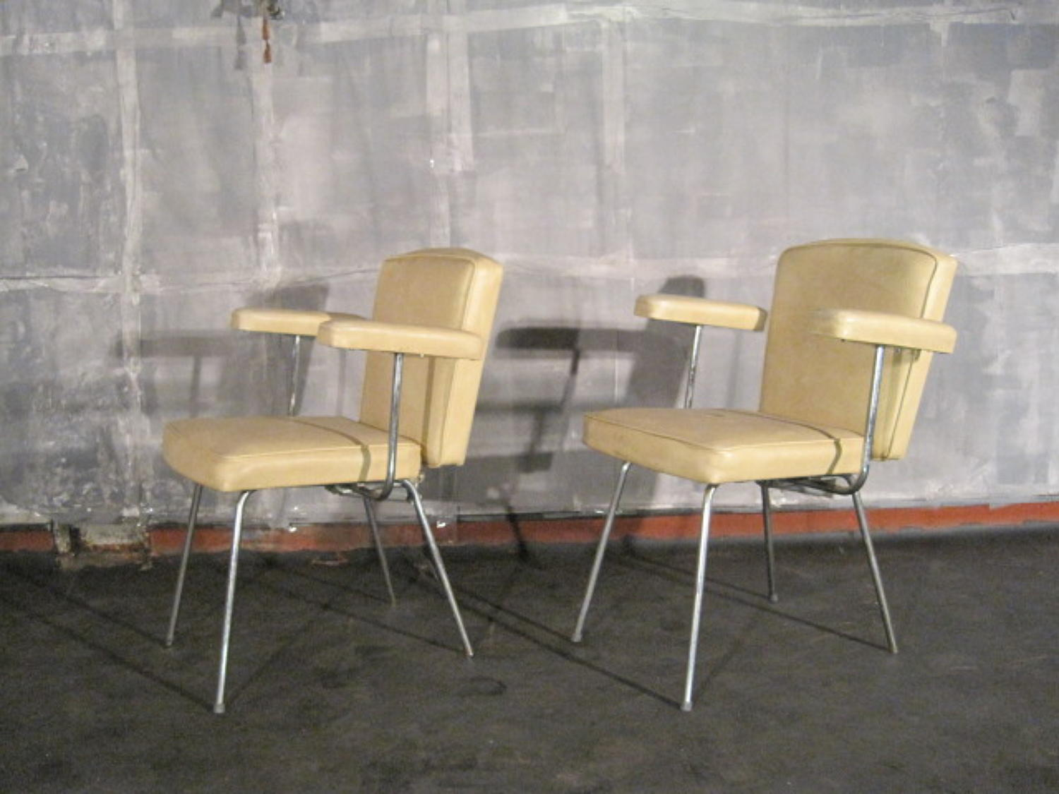 Vintage salon chairs