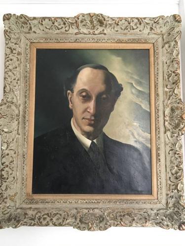 Oil portrait by Anna Zinkeisen