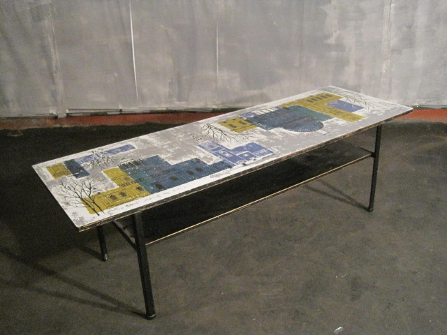 1960s formica coffee table by John Piper