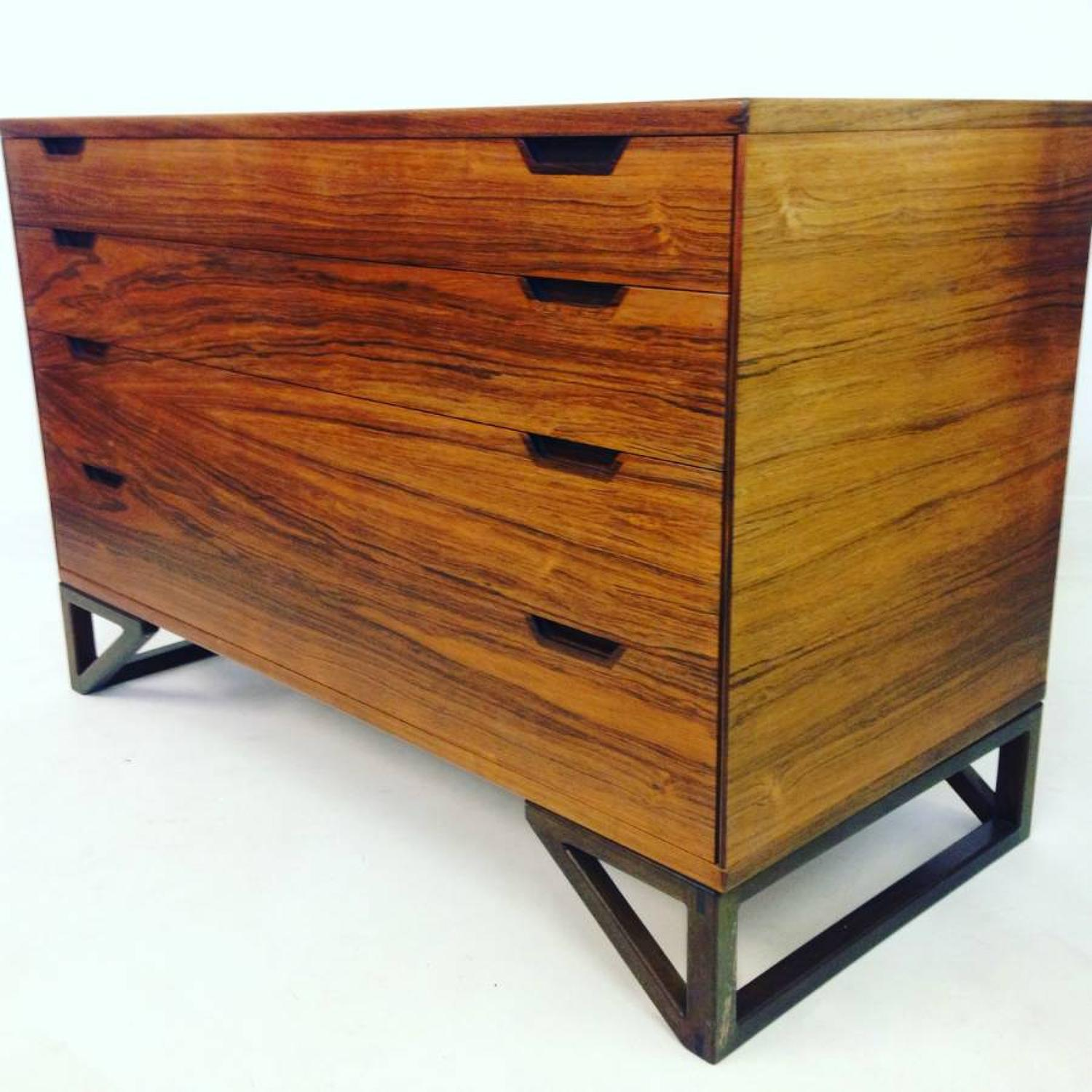 Rosewood chest of drawers by Svend Langkilde