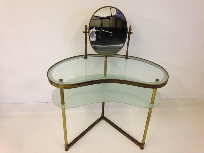 Italian brass vanity table