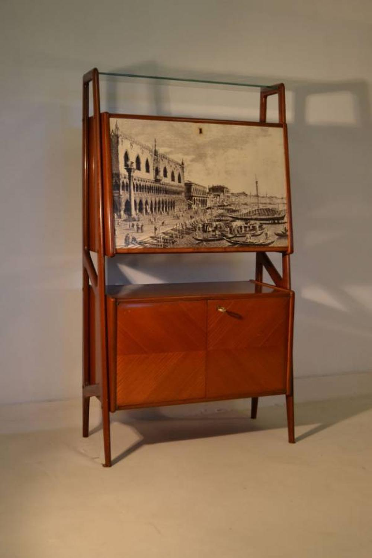 1950s Italian bar and cabinet