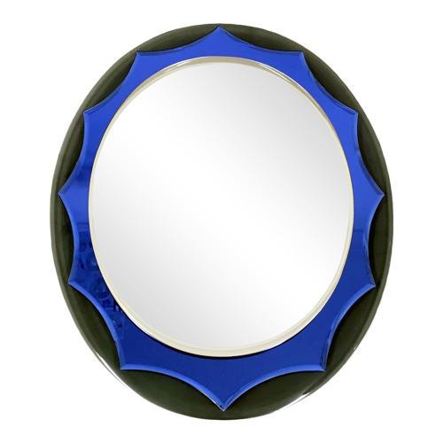 1960s Italian double coloured mirror
