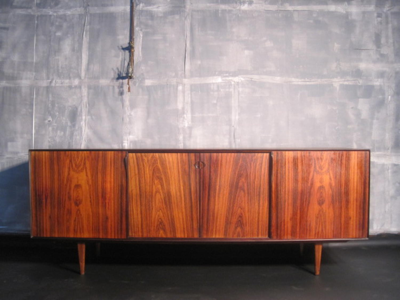 Danish rosewood sideboard by Rosengren Hansen