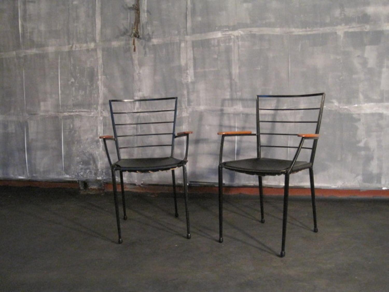 1960`s Ladderax armchairs