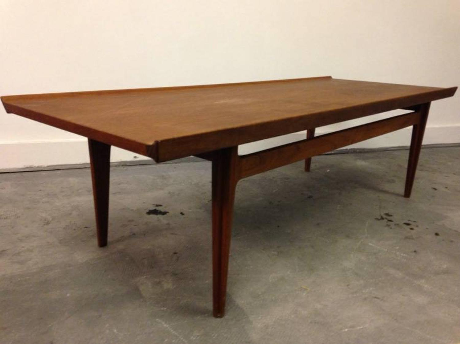 Danish teak coffee table by Finn Juhl