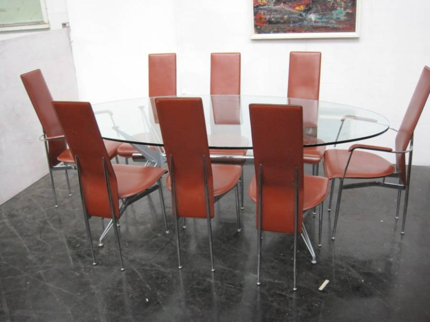 Giancarlo Vegni chairs and table