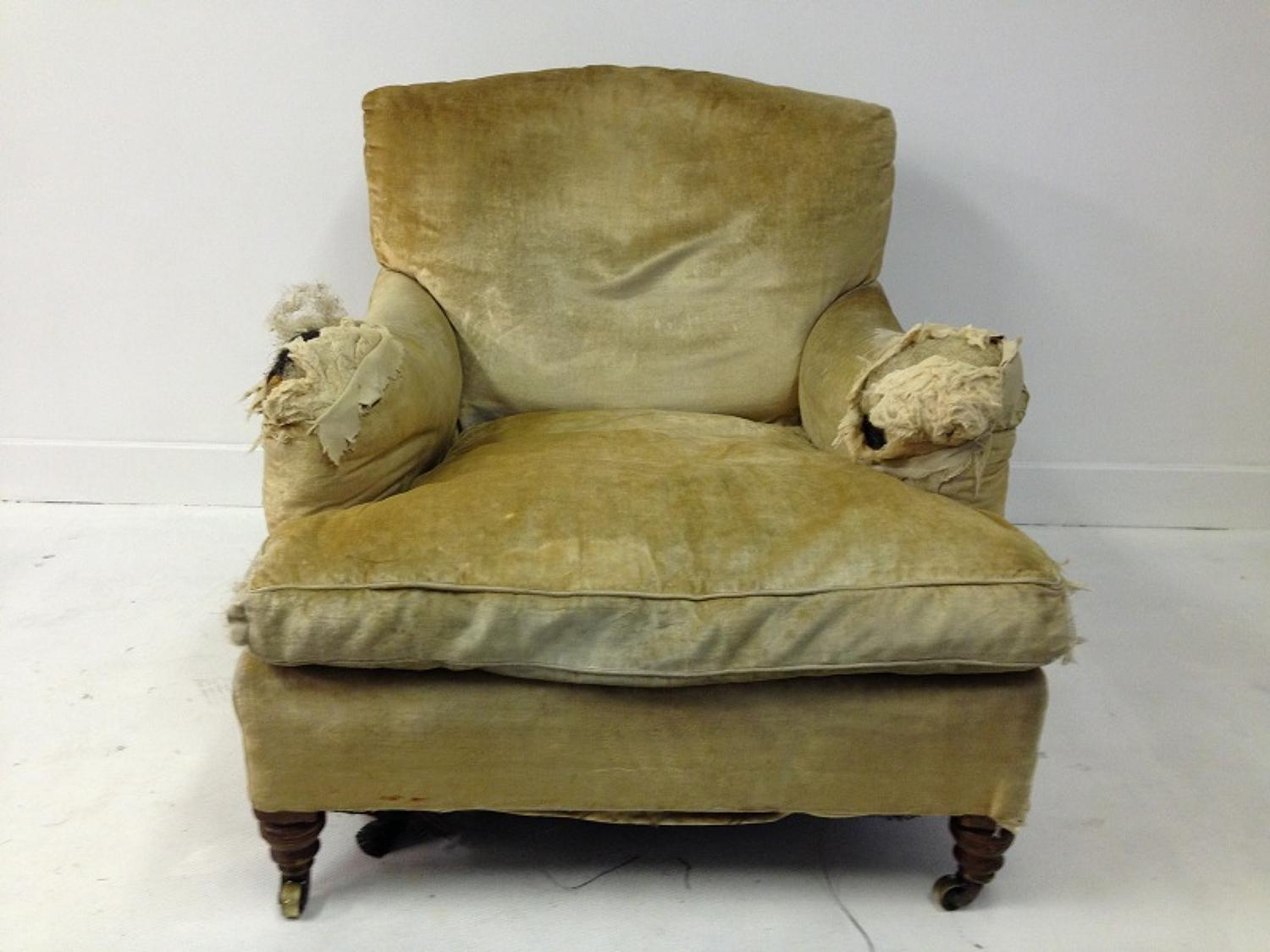 Large Howard and Sons armchair