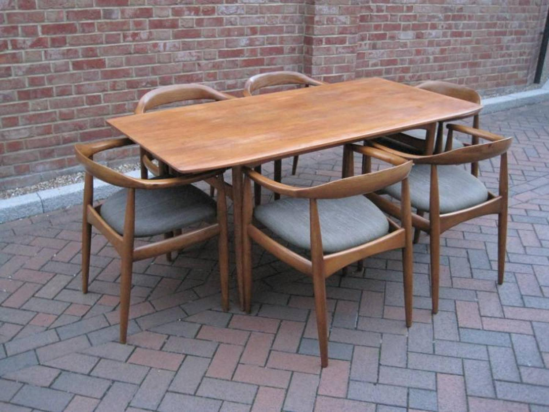 Set of six Eilersen chairs