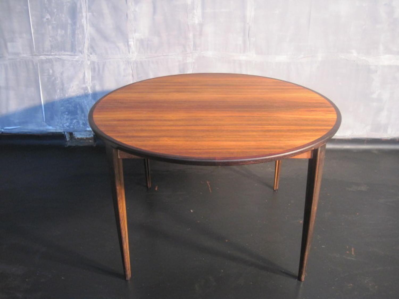 Rosewood dining table by Rosengren Hansen
