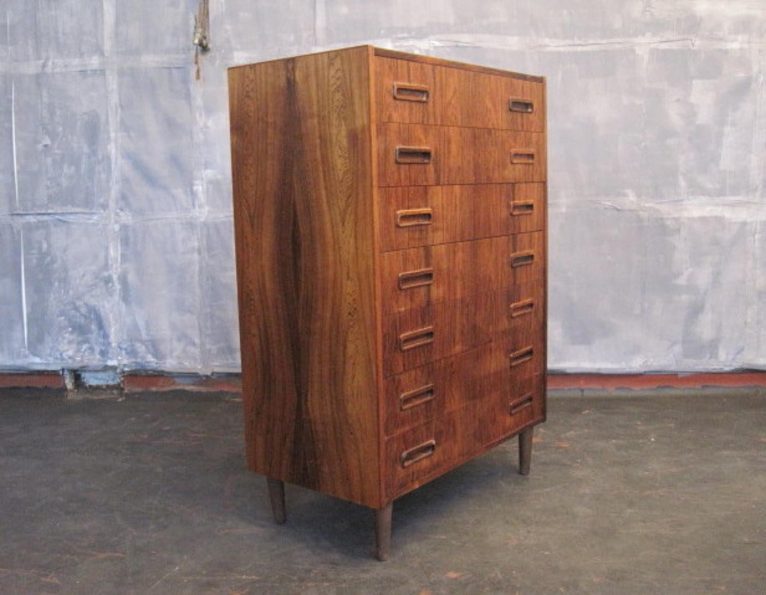Rosewood chest of drawers by Westergaard