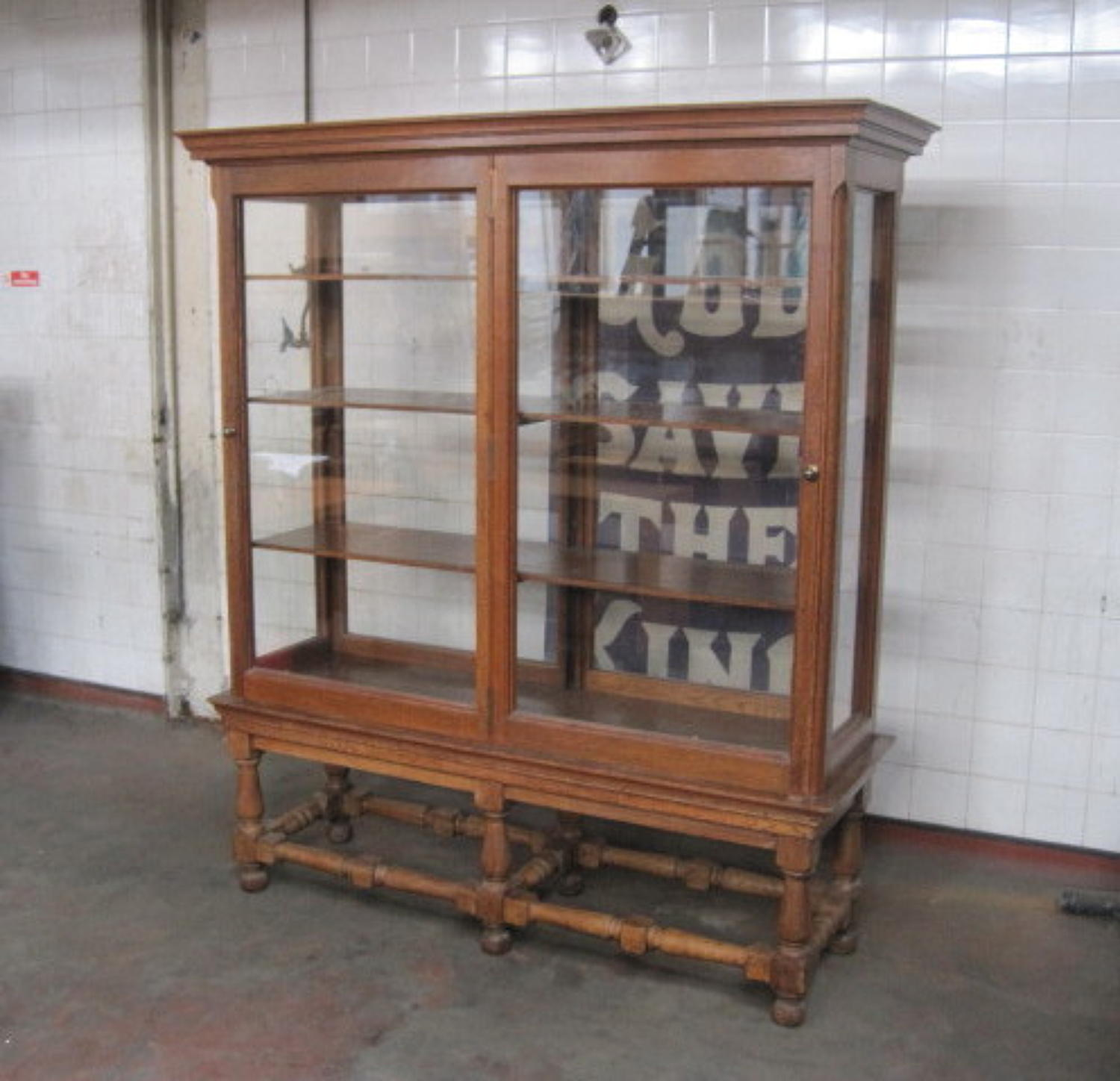 Shop or museum cabinet by Howard & Sons