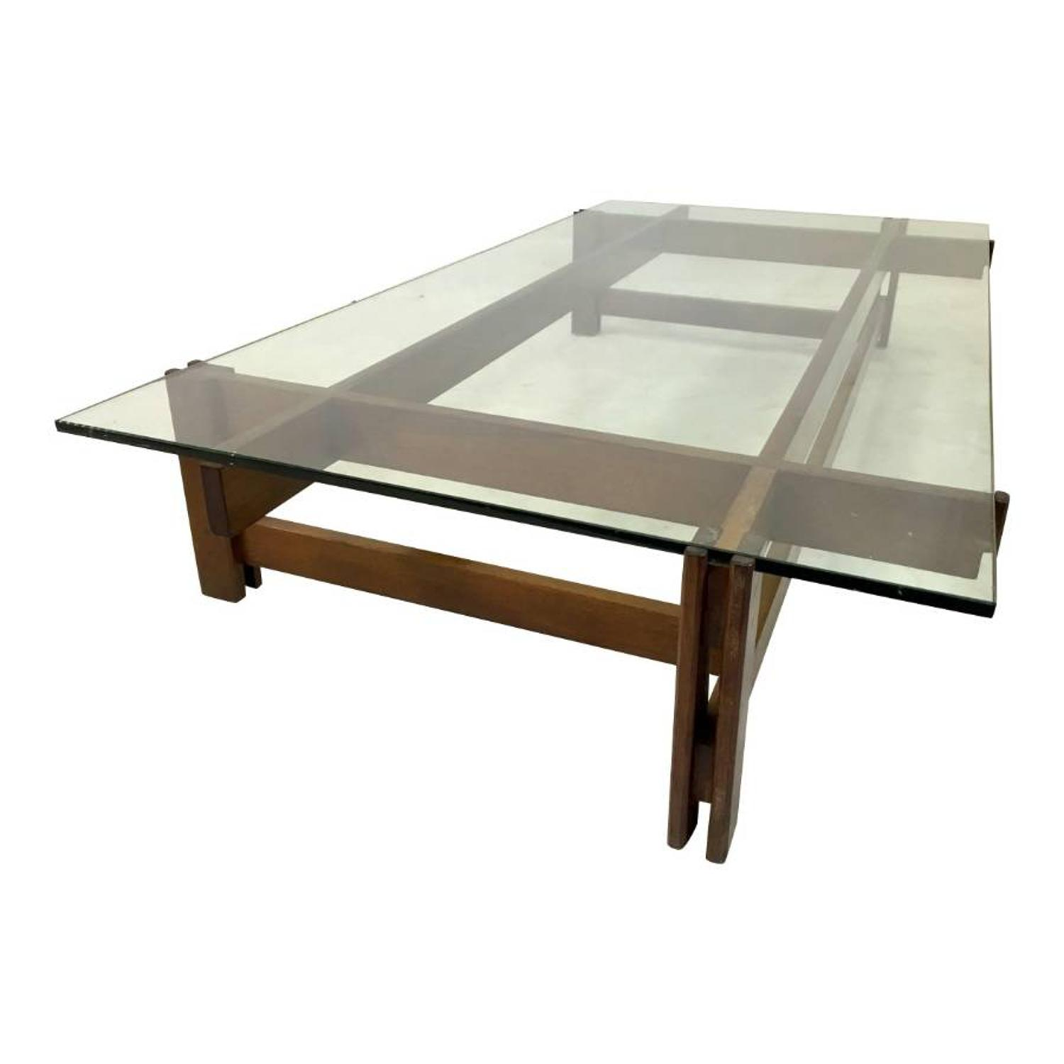 Large model 751 coffee table by Ico Parisi