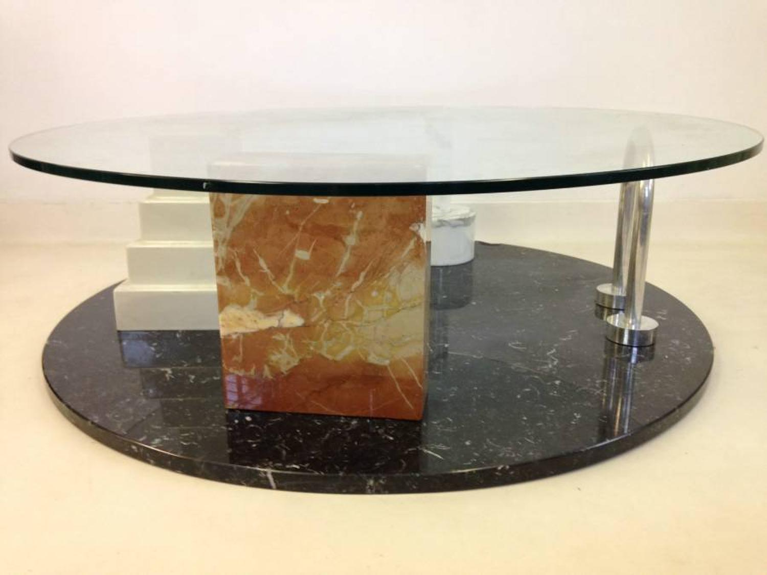 Park coffee table by Ettore Sottsass