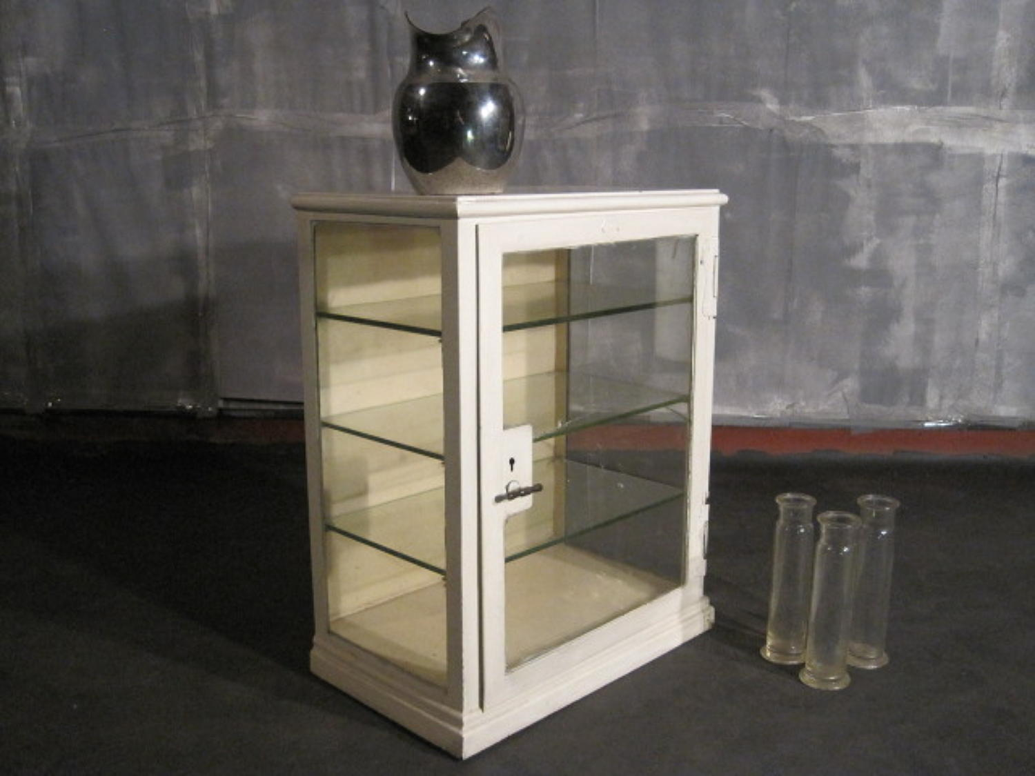 Industrial metal medical cabinet