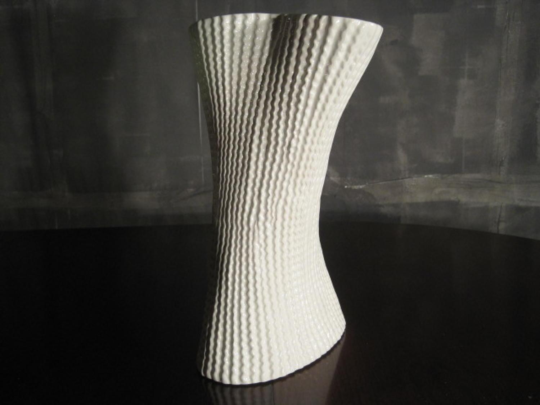 Cardboard vase by Paolo Ulian