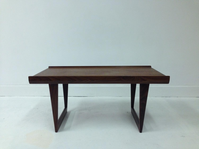 Danish teak coffee table by Peter Lovig