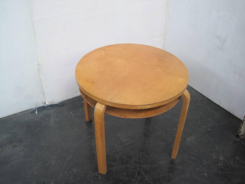 Alvar Aalto Model 70 table for Finmar
