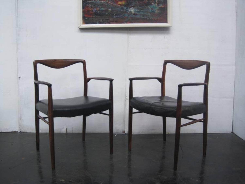 Kai Lyngfeldt Larsen rosewood armchairs