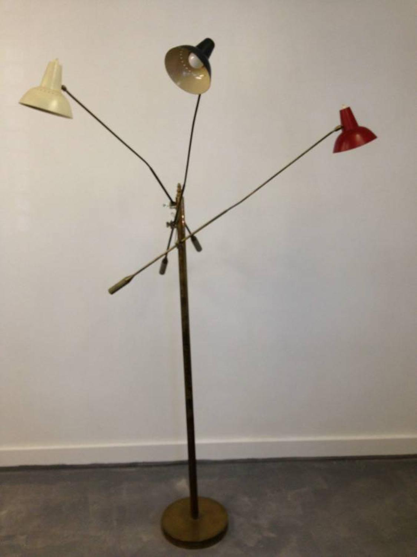 1950s Italian triennale floor lamp