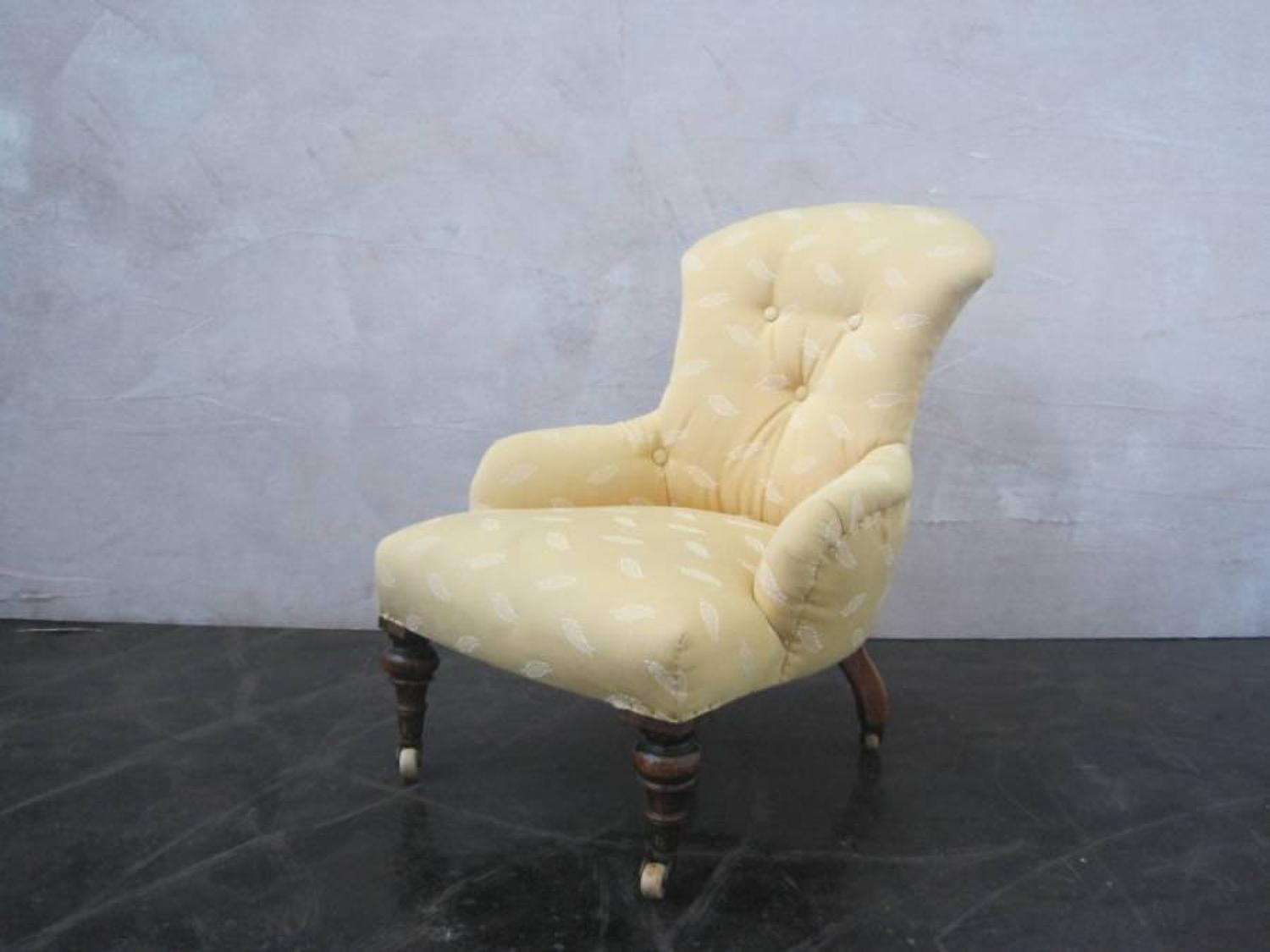 Victorian childs chairs