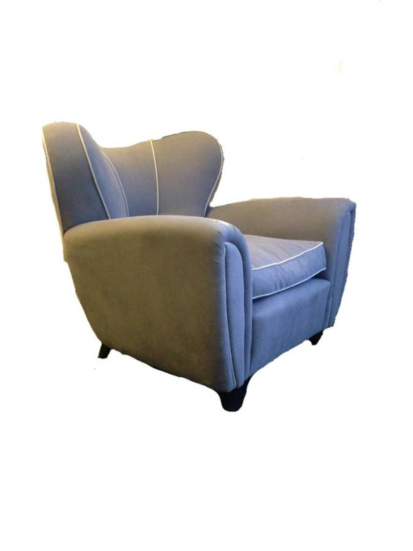 Large 1940s Italian armchair