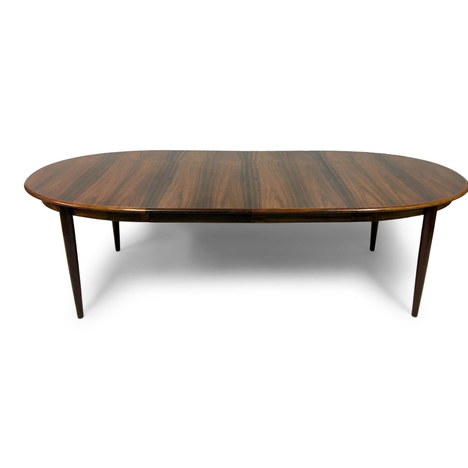 1960s Danish rosewood dining table by Gudme Mobelfabrik