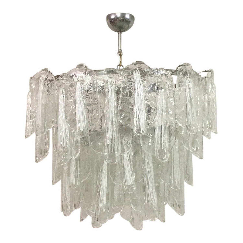 1960s Italian Murano glass chandelier
