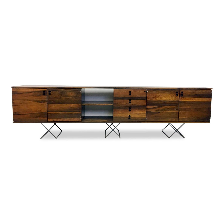 1960s Brazilian rosewood sideboard by Jorge Zalszupin