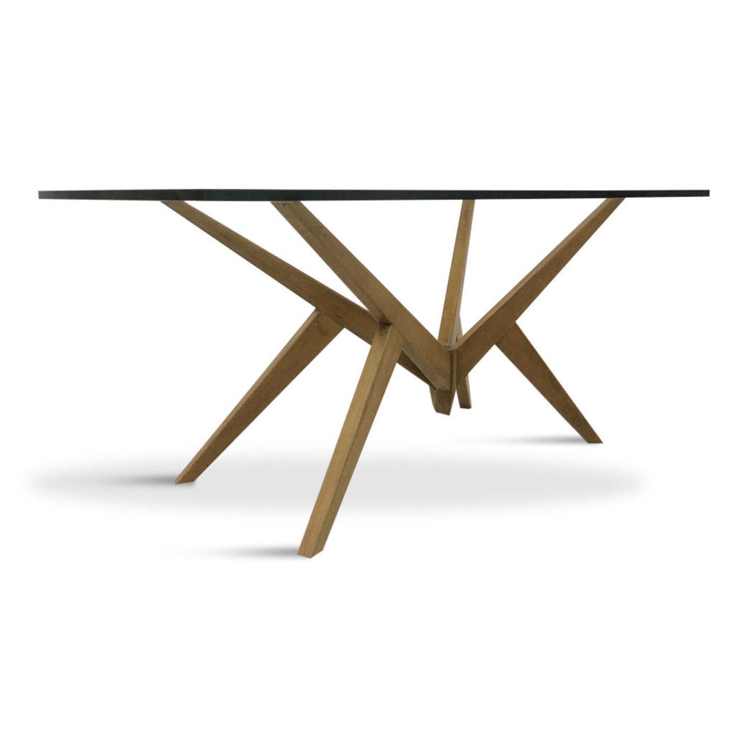 1950s Italian angular coffee table