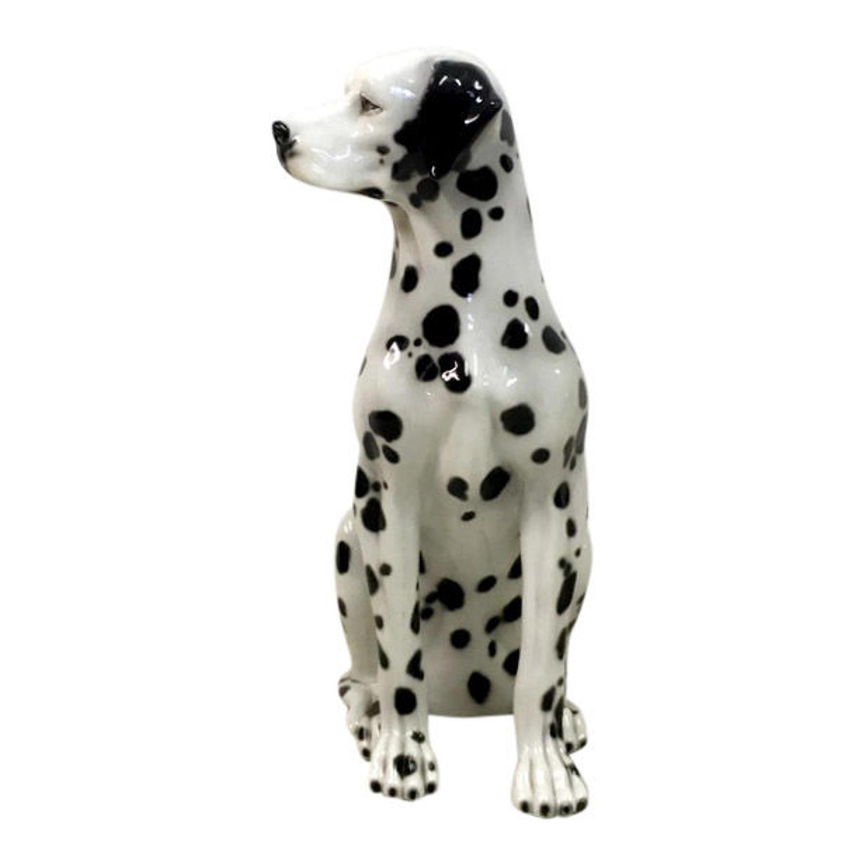1970s Italian ceramic Dalmatian