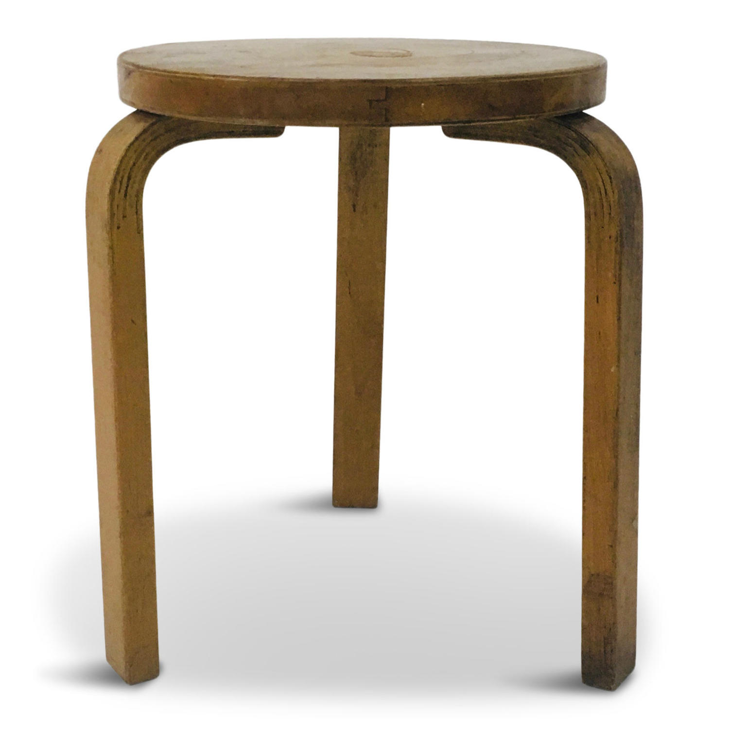 1930s Model 60 stool by Alvar Aalto for Finmar