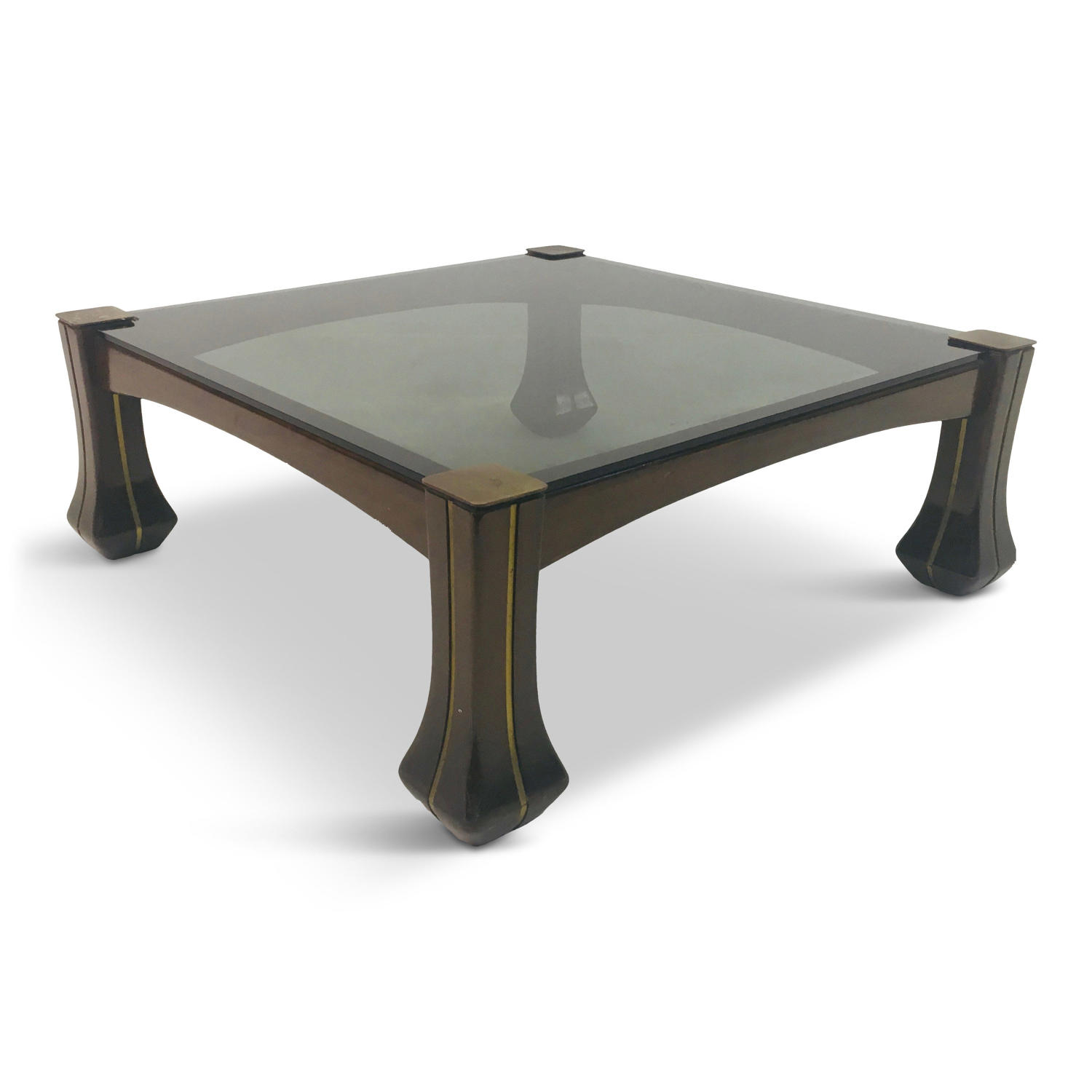 1960s Italian Ussaro coffee table by Luciano Frigerio