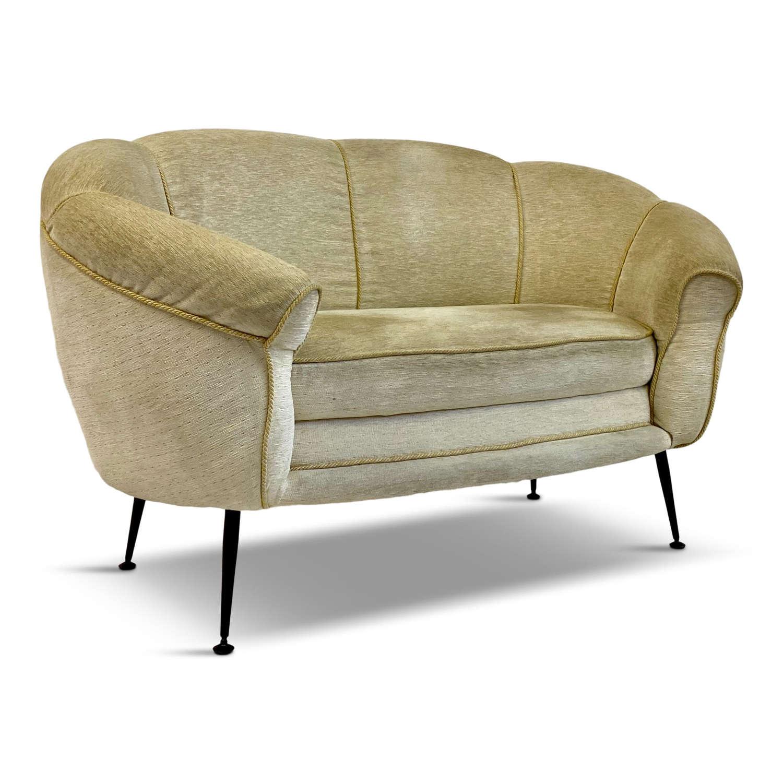 1960s Italian two seater sofa