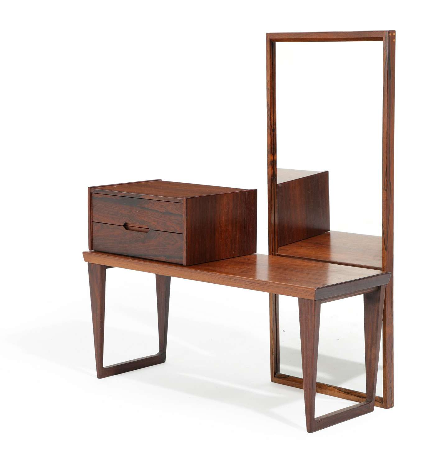 1960s Danish Rosewood Hall Set by Kai Kristensen