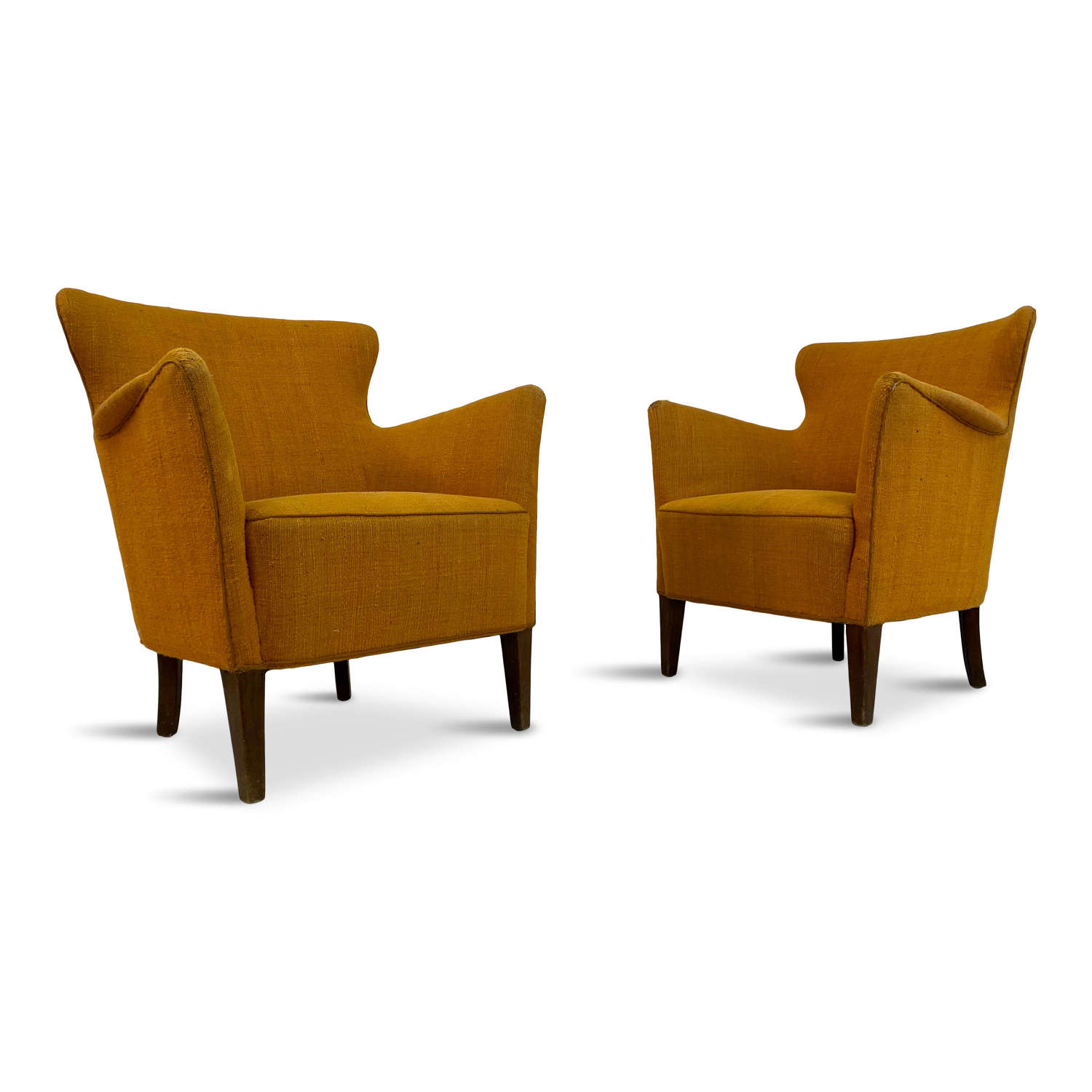 Pair of 1950s Danish Armchairs