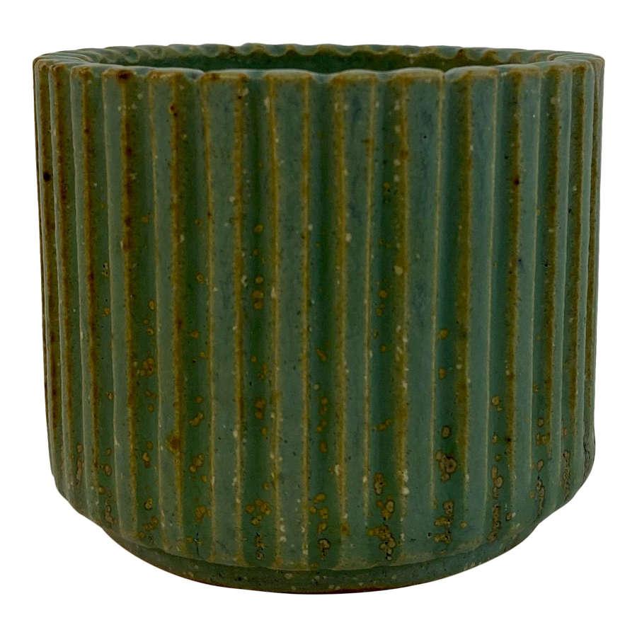 1940s Danish Stoneware Pot by Arne Bang