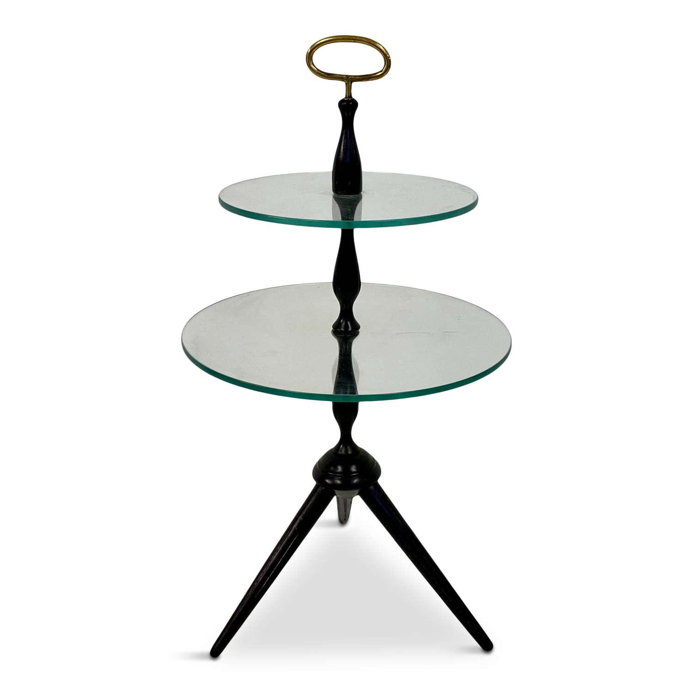 1950s Italian Two Tier Side Table